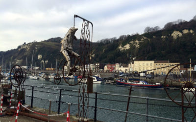 New Dolphin sculpture at Cullins Yard
