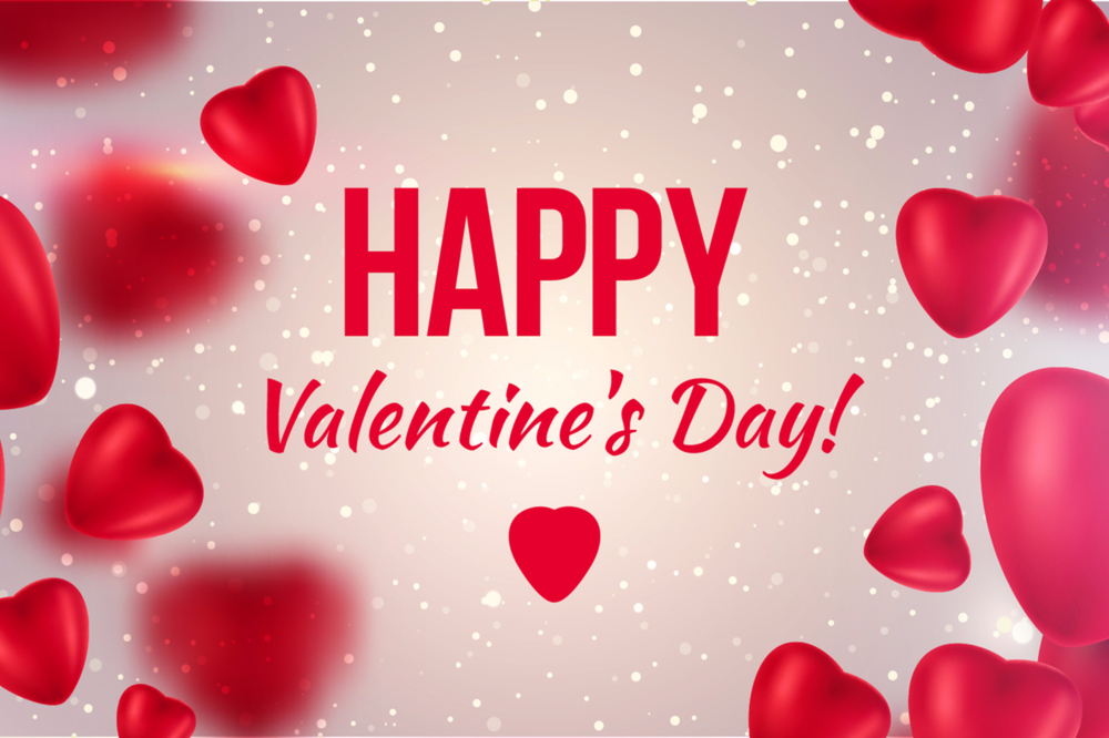 Book now for Valentines!