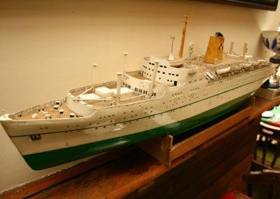 cullins yard boat model