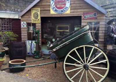 cullins yard garage
