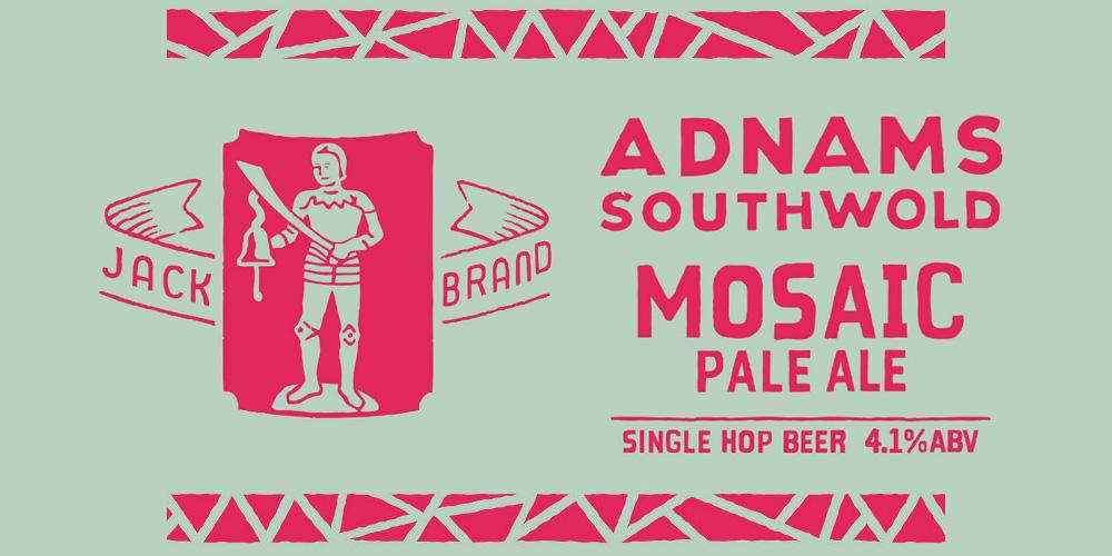 Adnams Jack Brand Mosaic Pale Ale label