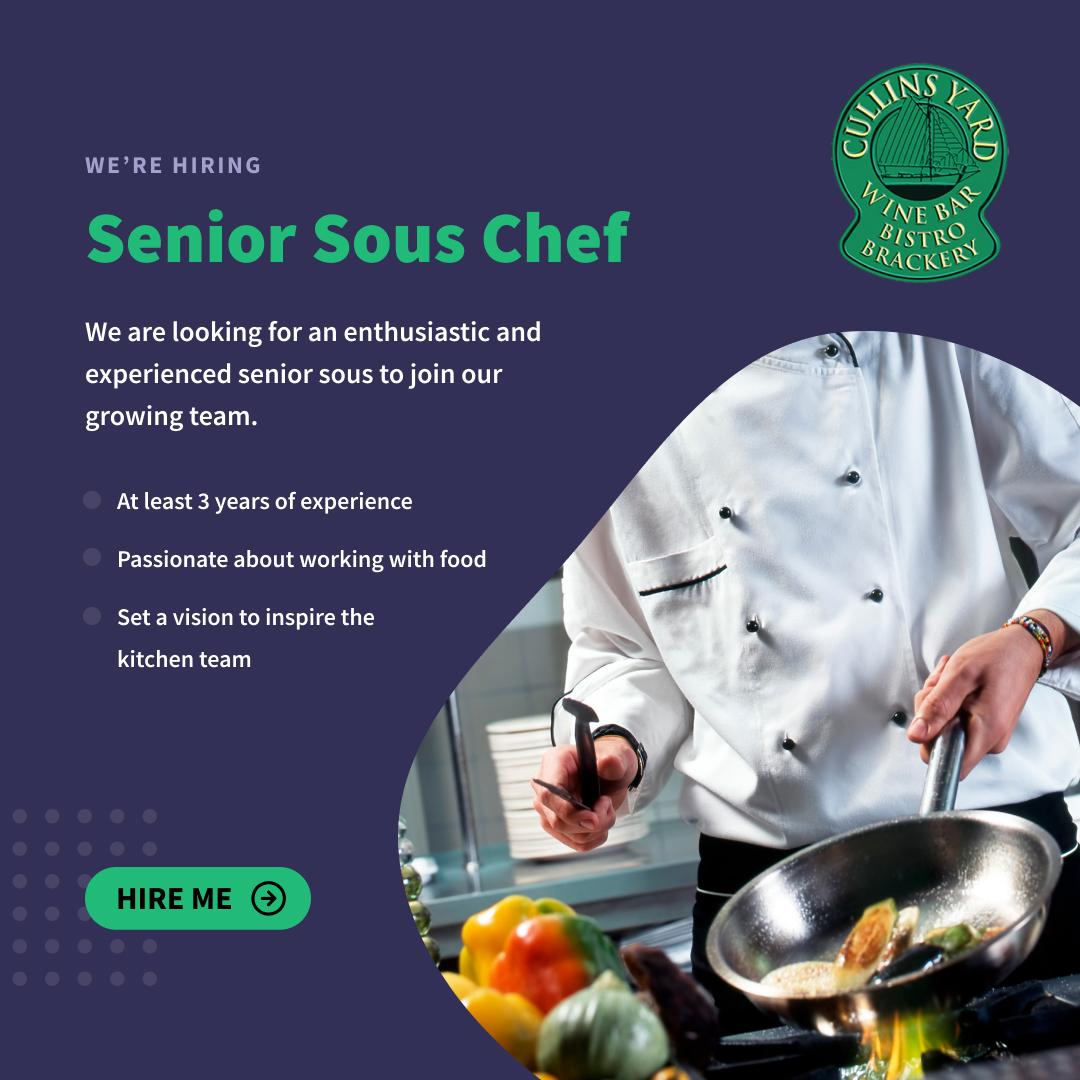 Cullins chef hire